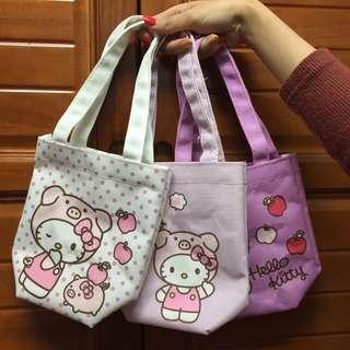 🚚 (免運)711 kitty 萬用小提袋 環保飲料提袋