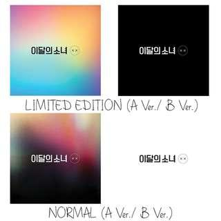 [PREORDER] 이달의 소녀 - X X / MINI REPACKAGE ALBUM
