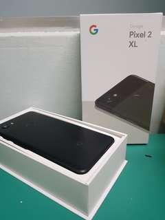 Google Pixel 2 XL 64 G BLACK like new