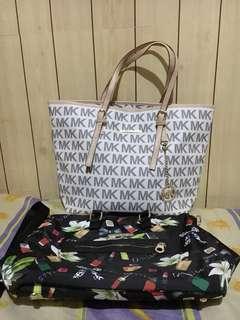 Michael Kors and Marc Jacobs Bag Bundle For Sale