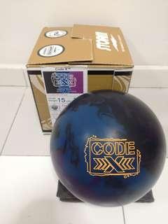 Undrilled 15lbs Storm Code xXx Bowling Ball