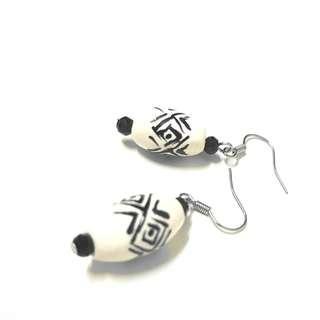 Tribal earrings from Borneo #MFEB20