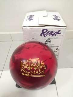 Undrilled 14lbs Radical Katana Slash Bowling Ball