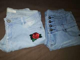 Bundle of 2 Denim pants