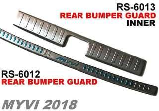 Myvi2018 Bumper guard with inner