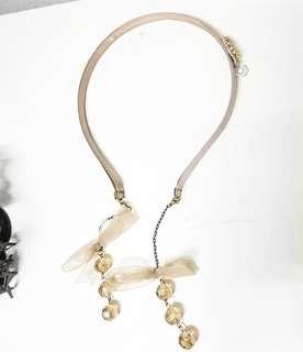 Headband with mock earrings #MFEB20