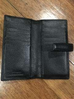 Fino black leather wallet