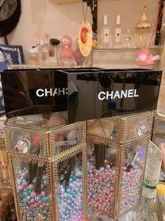 🚚 化妝品三格收納盒x2