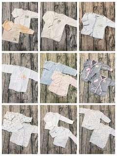 🚚 嬰兒紗布衣30件(2件全新+28件二手)