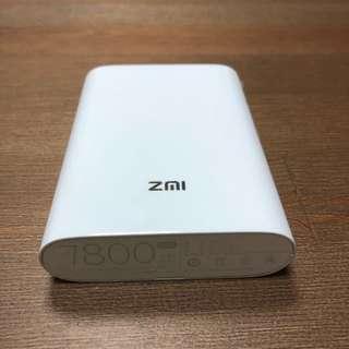 小米 ZMI 紫米 4G 隨身路由器 MF855(7800mAh)WIFI蛋