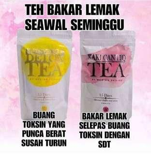 🚚 Medina desire detox tea combo set