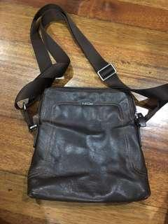Pabder Chocolate brown sling bag