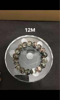 彩幽靈聚寶盆手鍊12M