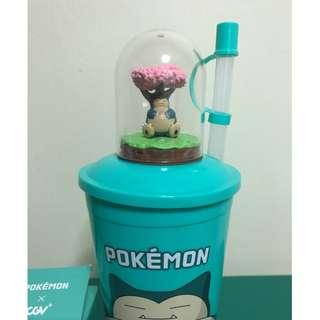 Pokemon snorlax cup from korea