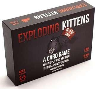 🚚 Exploding Kittens card game