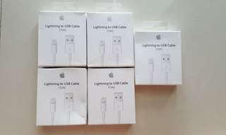Lightning usb Cable 1M (comes with box)