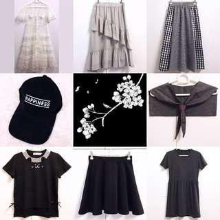 🖤🖤🖤CHECK OUT OUR LISTINGS〜 Assorted various cute comfy pastel clothing for clearance sale!