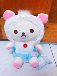 🚚 大型28公分 拉拉熊 牛奶妹 懶懶熊 變裝牛奶妹 娃娃 玩偶 小雞變裝牛奶妹
