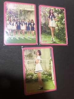 Gfriend japan 1st album photocard (super rare)