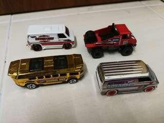 Lot Van and Trucks