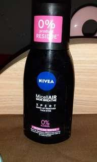 Nivea MicellAIR XPERT make up remover face-eyes