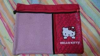 厚身尼龍 Hello Kitty 袋 2014 Sanrio Bag (有污點)