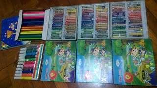 顏色筆 Pentel 飛龍牌 油粉彩 water color colored pencils