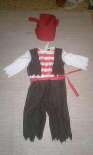 Pirate 2-4 yrs old