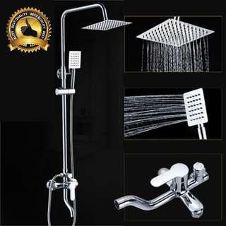 Quality & Simple Rain Shower Set (Full Set) Best Deal In Town !