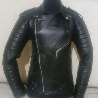 Rockabilly jaket kulit rider