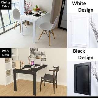 Foldable Table / Wall Frame Table