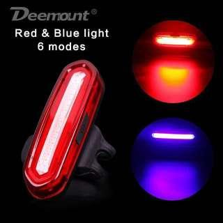 🚚 Deemount USB Rechargeable Bicycle Rear Light