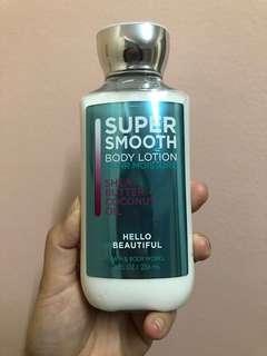 Bath&Body Works Hello Beautiful Shea Butter Coconut Oil Lotion