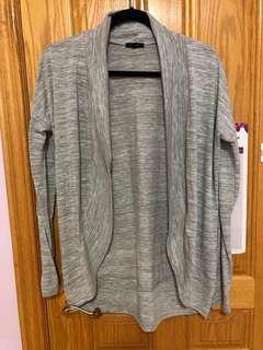 Short Grey Cardigan