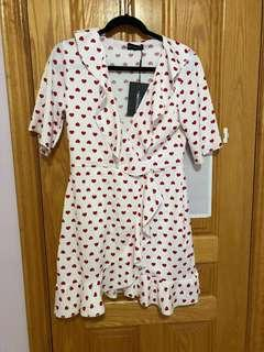Pretty Little Thing Polka-Dot Dress