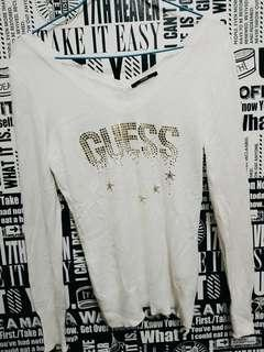🚚 GUESS V領上衣s