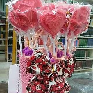 Chocolate Hearts for Sale!