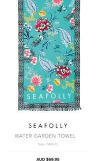 🇦🇺Seafolly Beach Towel Tropical Flower