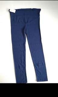 Maternity leggings (navy blue)