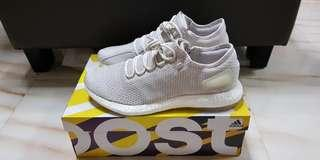 $350 Adidas Pure Boost Triple White US Size 12