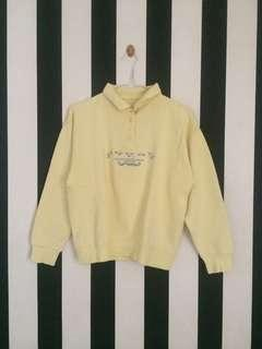 Vintage Yellow Sweater | Outer Kuning