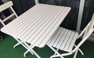 Balcony outdoor IKEA Sets in White