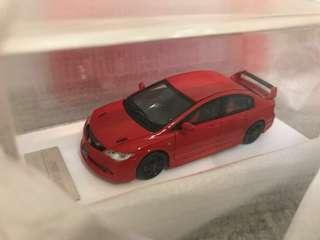Onemodel Resin Handmade Model HONDA FD2 RR