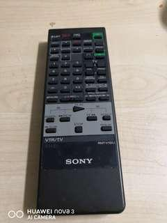 Sony vhs remote control