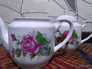 2 IN 1 TEAPOT SET