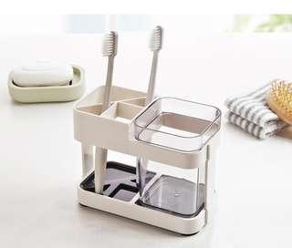 🚚 「 BNIB 」Minimalist Toothbrush Holder & Cup #MakeSpaceForLove