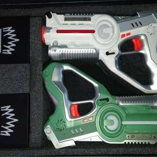 [RENTAL] : Laser tag toy guns with Team base (Hourly rental)
