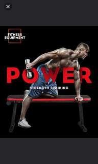 多功能健身椅臥推舉重板 (exerone) (gym exercise bench)