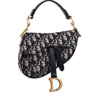 Dior Horse Paddle Bag