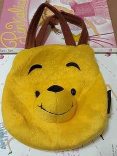 Pooh face kids mini bag